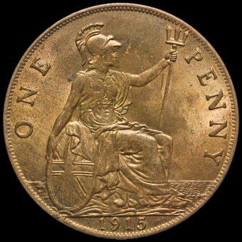 1915 George V Penny Reverse