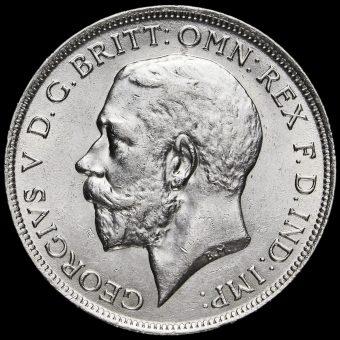 1918 George V Silver Florin Obverse