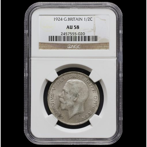 1924 George V Silver Half Crown