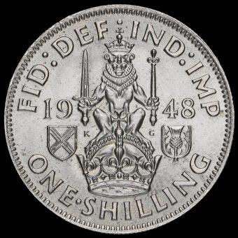 1948 George VI Scottish Shilling Reverse