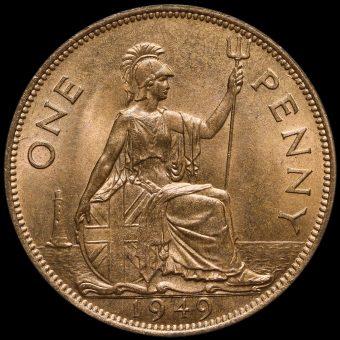 1949 George VI Penny Reverse