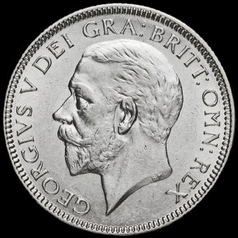 1926 George V Silver Shilling, Third Coinage Obverse