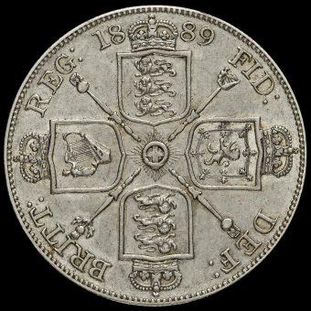 1889 Queen Victoria Double Florin Reverse