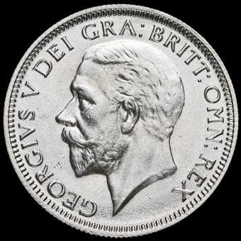 1935 George V Silver Shilling Obverse