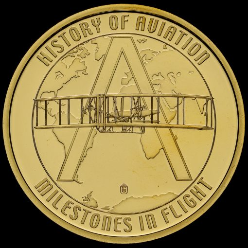 2009 Concorde the Legend Commemorative Medal Reverse