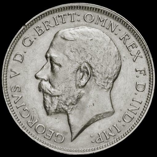 1912 George V Silver Florin Obverse