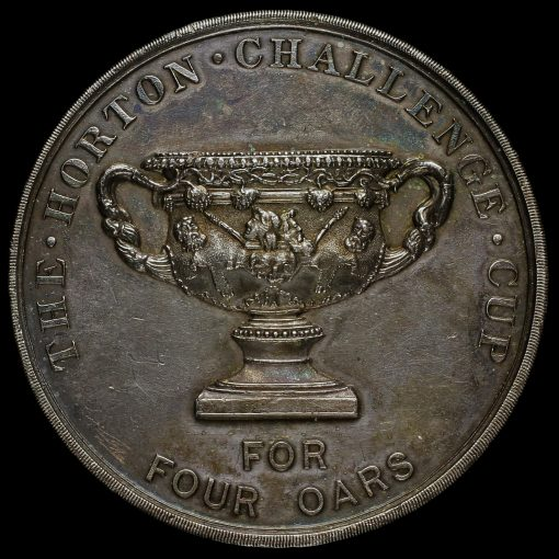The Horton Challenge Cup For For Oars Silver Medal Obverse