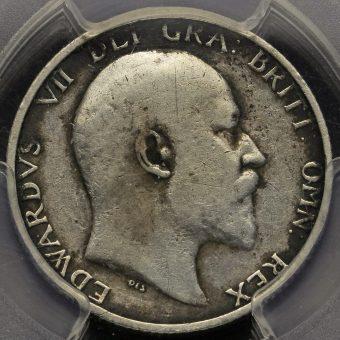 1905 Edward VII Silver Shilling Obverse
