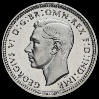 1938 George VI Silver Maundy Fourpence Obverse