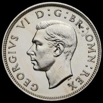 1950 George VI Proof Florin Obverse