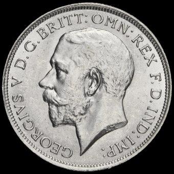 1917 George V Silver Florin Obverse