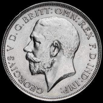 1919 George V Silver Florin Obverse