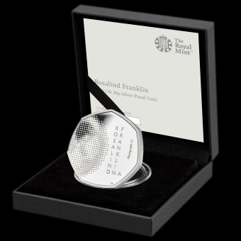 2020 Rosalind Franklin Innovations in Science Silver Proof 50p
